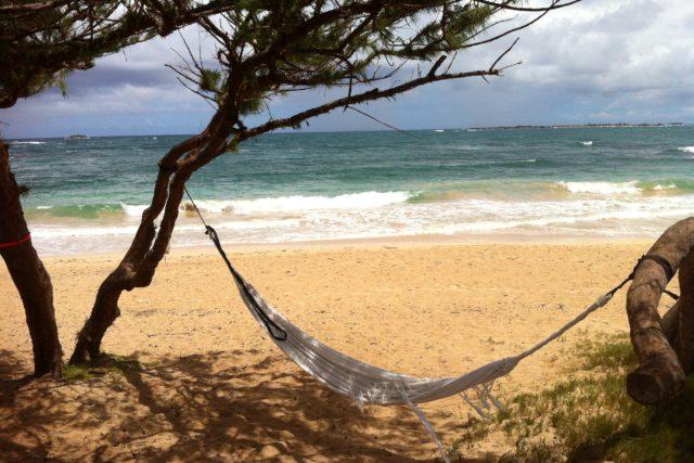 オンザビーチで宿泊可能な隠れビーチ【マラエカハナ】