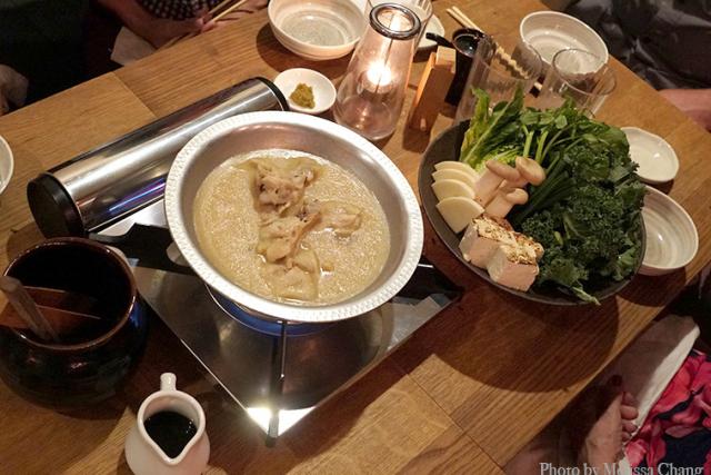 冬季限定、ジグの新しいお鍋料理