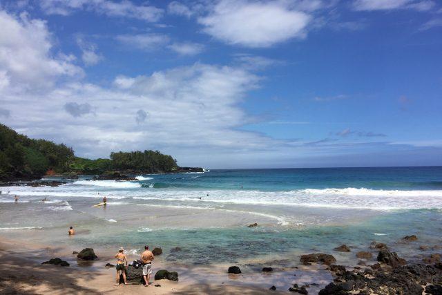 ヘミングウェイが「世界一美しいビーチ」と呼んだハモアビーチ