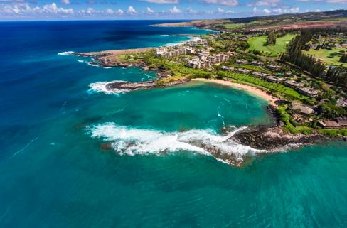 2018年全米BEST BEACH、マウイ島カパルアベィビーチ