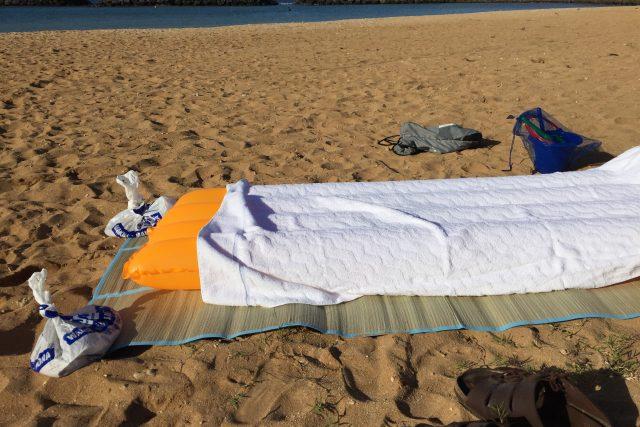 完璧なるビーチ寝転びスタイルのためのヒント
