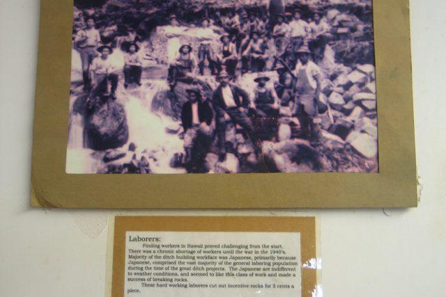 日本人移民の努力で完成した100年前の用水路に涙
