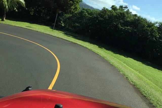 ハワイの車道からー 絶景タンタラス、ラウンドトップドライブ